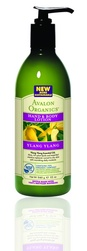 Лосьоны для рук и тела с маслом Иланг-Иланг - Ylang Ylang Hand & Body Lotion, AVALON ORGANICS (Авалон Органикс), 360 мл