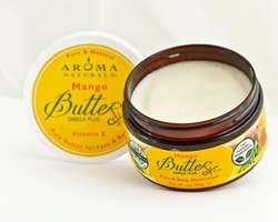 Масло твердое Манго - Body Butter Pure Mango Butterx, Aroma Naturals (Арома Нейчералс), 95 г