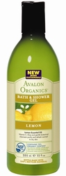 Гель для душа Лимон - Lemon bath and shower gel, AVALON ORGANICS (Авалон Органикс), 355 мл