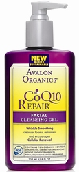 Очищающий гель CoQ10 - Facial Cleansing Gel COQ10, AVALON ORGANICS (Авалон Органикс), 250 мл