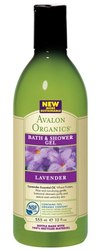Гель для душа Лаванда - Lavender bath and shower gel, AVALON ORGANICS (Авалон Органикс), 355 мл