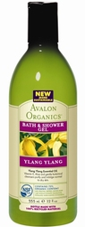 Гель для душа Иланг-иланг - Ylang ylang bath and shower gel, AVALON ORGANICS (Авалон Органикс), 355 мл