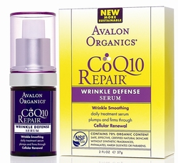 Сыворотка против морщин CoQ10 - Wrinkle Defenсe Serum CoQ10, AVALON ORGANICS (Авалон Органикс), 16 мл