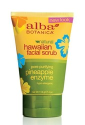 Гавайский скраб для лица - Natural Hawaiian Facial Scrub, Alba Botanica (Альба Ботаника), 113 г