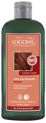 Color Care шампунь с хной - Color Care Shampoo Henna, for red-brown hair , Logona (Логона), 250 мл