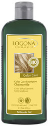 Color Care шампунь с ромашкой - Color Care Shampoo Chamomile, for blonde hair , Logona (Логона), 250 мл