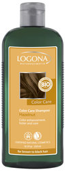 Color Care шампунь с лесным орехом - Color Care Shampoo Hazelnut, for brown-black hair , Logona (Логона), 250 мл